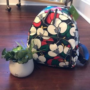 NWT Kate Spade Dawn Breezy Floral Backpack